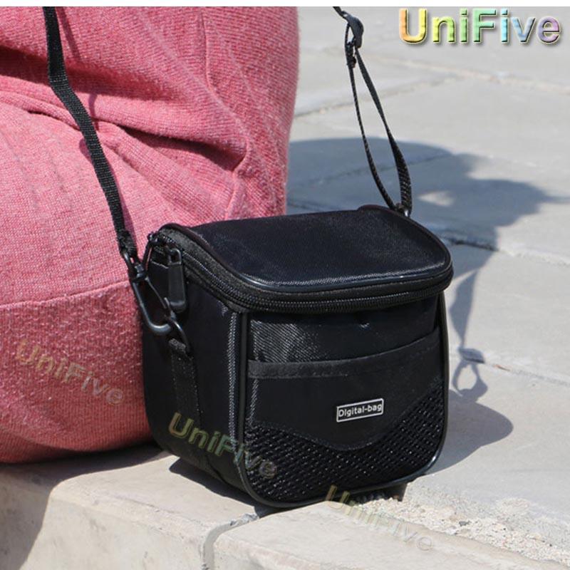 Digital Camera Bag For Sony Canon Nikon Gopro Panasonic Kodak Fuji Olympus H400 P530 P340 SX540 SX420 SX720 a5100 DV Camera Case(China (Mainland))