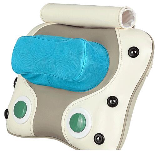 Free shipping Multifunctional massage neck and back shiatsu massage device cushion home electric heating massage pillow(China (Mainland))