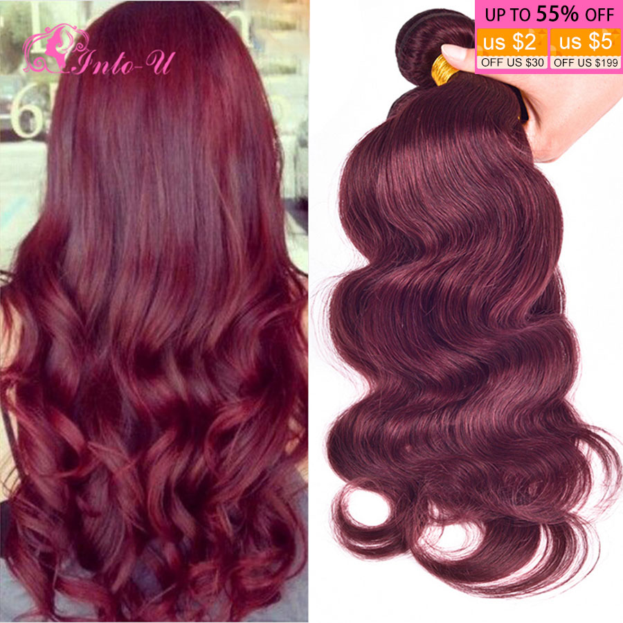 Rosa Hair Products Peruvian Body Wave 4pcs lot 99j Burgundy Red Wine Colored Hair Bundles 8-30 Cheap Peruvian Virgin Hair<br><br>Aliexpress