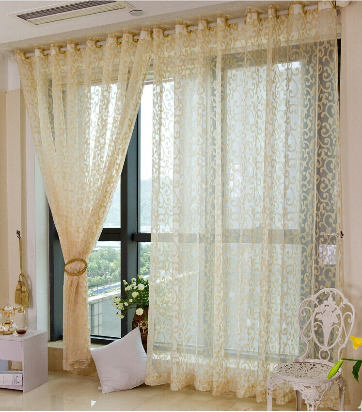 Gold Sheer Curtains Promotion Shop For Promotional Gold