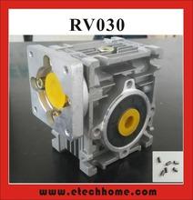 Buy 7.5:1 80:1 Worm Reducer RV030 Worm Gearbox Speed Reducer Shaft Sleeve Adaptor 8mm Input Shaft Nema 23 Motor for $43.16 in AliExpress store