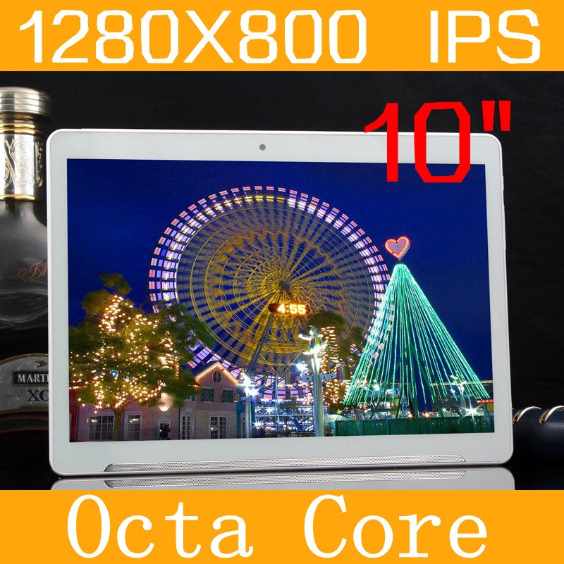 """Android5.1 Tablet 10"""" IPS 1280*800 4GB/128GB MT6592 Octa Core Tablette Dual SIM Phone Call GPS wifi The metal shell Tablet PC(China (Mainland))"""