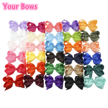 Buy 40Pcs/Lot 30 Colors 4Inch Hair Bows Kids Girls Hair Clips Boutique Bows Hairpins Kids children Kids Girl Hair Accessories for $14.25 in AliExpress store