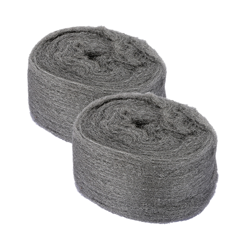 Steel Wool 0000 Ultra Fine Metal Fibre Wool Pads For Wood and Stone Grinding Polishing Hand Tools(China (Mainland))