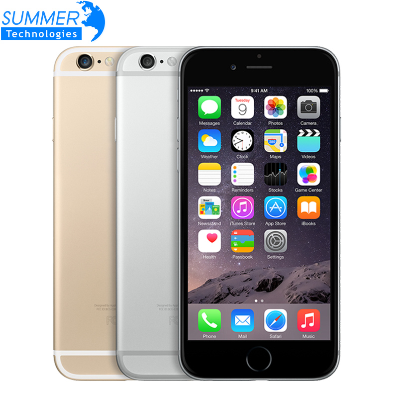Original Unlocked Apple iPhone 6 iphone 6 plus Cell Phones IPS 1GB RAM 16/64/128GB ROM GSM WCDMA LTE Used Mobile Phone(China (Mainland))