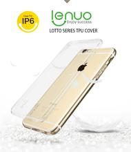 Lenuo Soft Clear TPU Back Cover Case for Iphone6