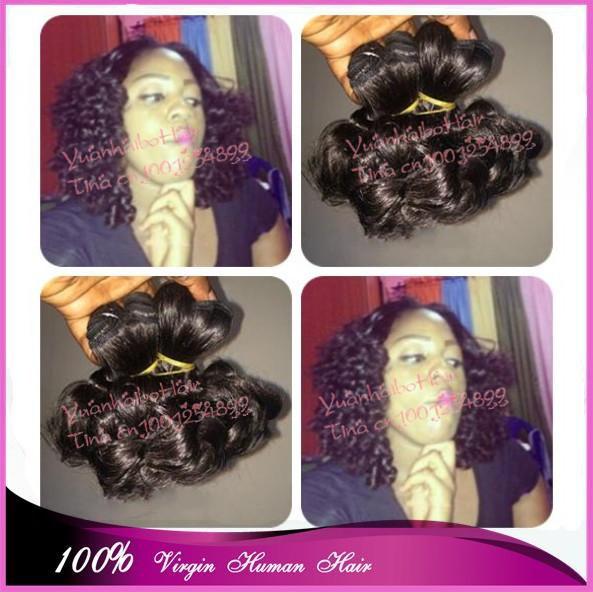 Best 7A quality 3pcs/lot #1b tight romance curls funmi hair malaysian virgin hair weave for black free shipping<br><br>Aliexpress