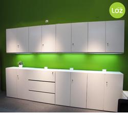 Yue Zi Furniture Korean Fashion White Locker Combination