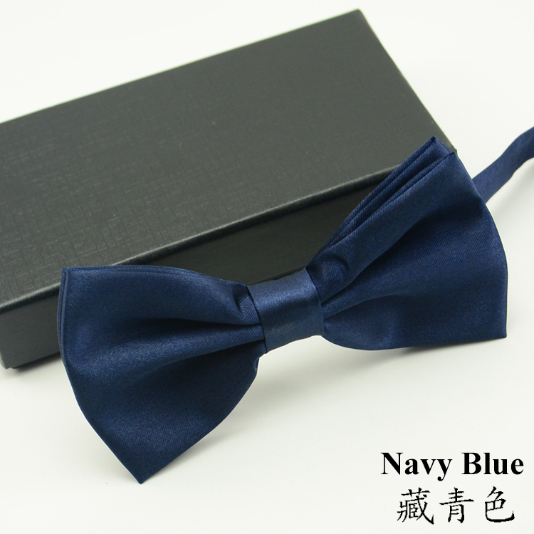 Colorful 39 Colors Solid Fashion Bow Ties For Men Grooms 1pc Bowties Butterly Wedding Marriage Black