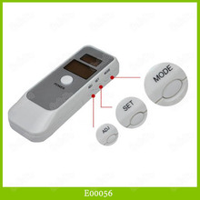 LCD Digital Alcohol Breath Analyzer Tester Breathalyzer Easy To Use and Carry 35PCS/LOT DHL Free Shipping(China (Mainland))