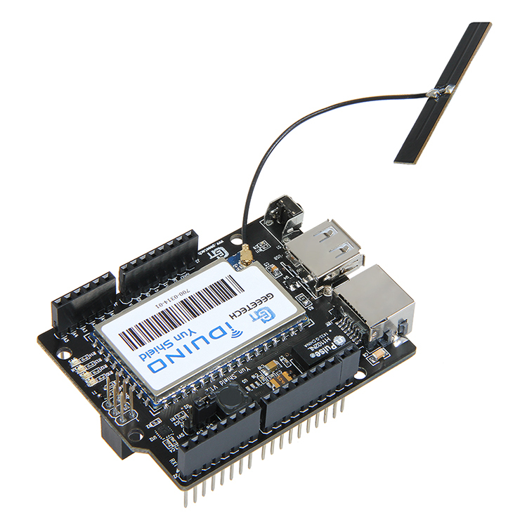 Linux wifi ethernet usb all in one yun shield