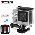 Ultra HD 4K H9R 1080p Wifi Action Camera With 2 4G Remote Sport Cameras Deportiva Mini