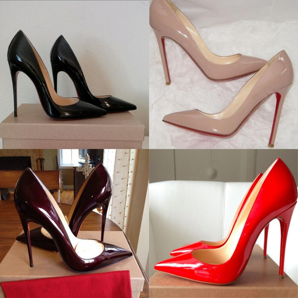 black high heel shoes with red soles christian louboutin shoes