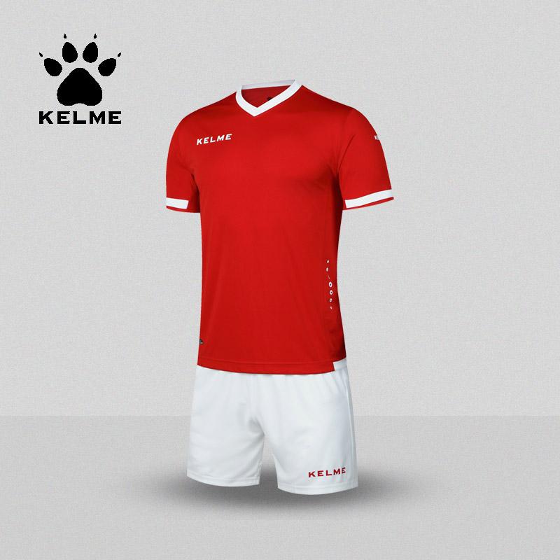 KELME Brand Soccer Set College Football Jerseys Custom Soccer Jerseys 2017 Training Survetement Football Men Uniforms K15Z212(China (Mainland))