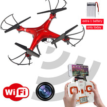 Real time Transmission Toys rc helicopter drone quadcopter gopro professional drones with WIFI fpv camera Drones