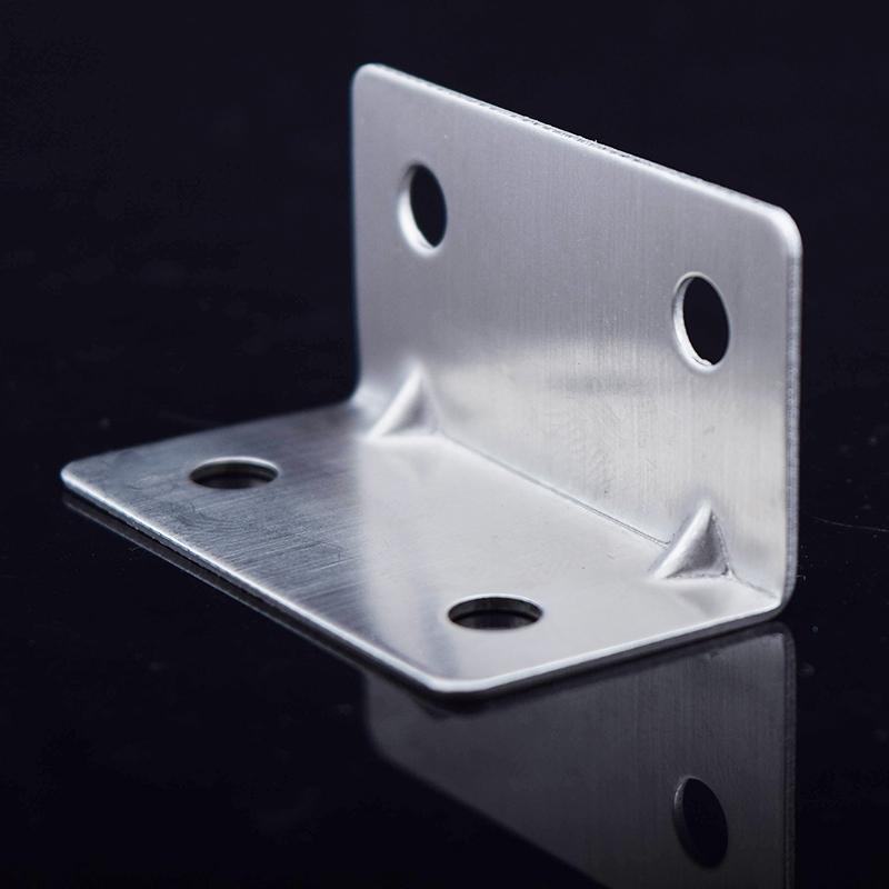 lot 21mm 21mm 4 holes heavy duty corner brace steel angle brackets