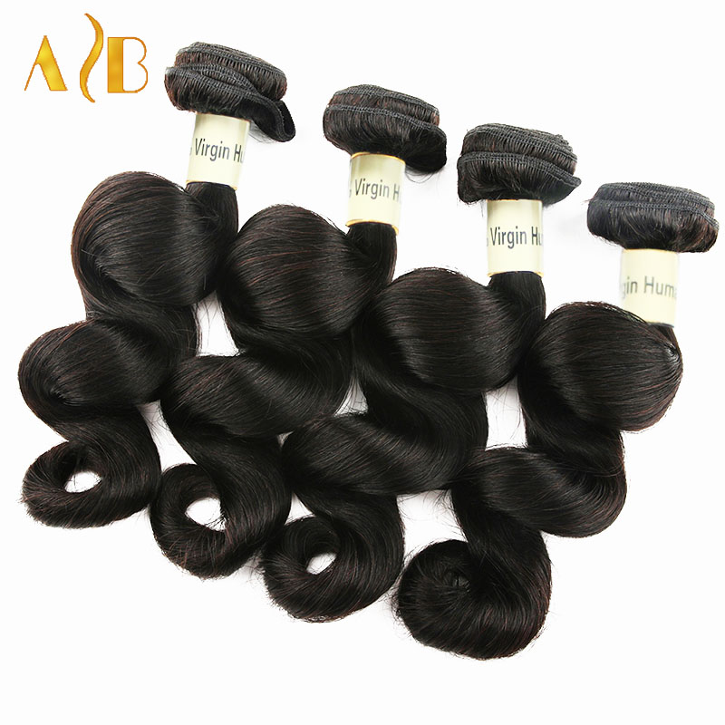 7A Rosa Hair Products Indian Loose Wave Virgin Hair 10pcs Indian Human Hair Weave, Unprocessed Indian Loose Wave<br><br>Aliexpress