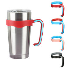 Universal Standard Multicolor 20oz Yeti Cup Holders 304 Stainless Steel Insulated Tumbler Mug Handle Drop Free Shipping 9D(China (Mainland))
