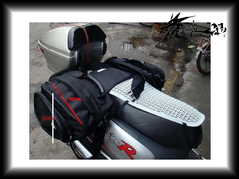 1 pair Motorcycle Side Luggage Waterproof Saddle Bags Backpack For YZF R1 YZF R6 1998-2017