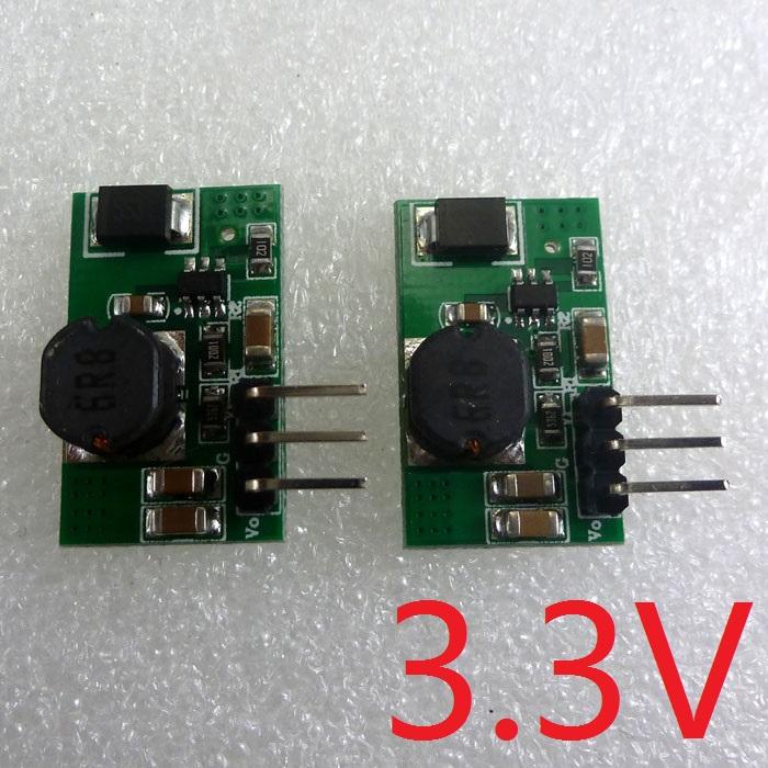 Гаджет  2pcs 1.2A 5V 6V 9V 12V to 3.3V DC DC Converter Step Down Buck Regulator Board for esp8266 WIFI Bluetooth Zigbee Module None Электронные компоненты и материалы