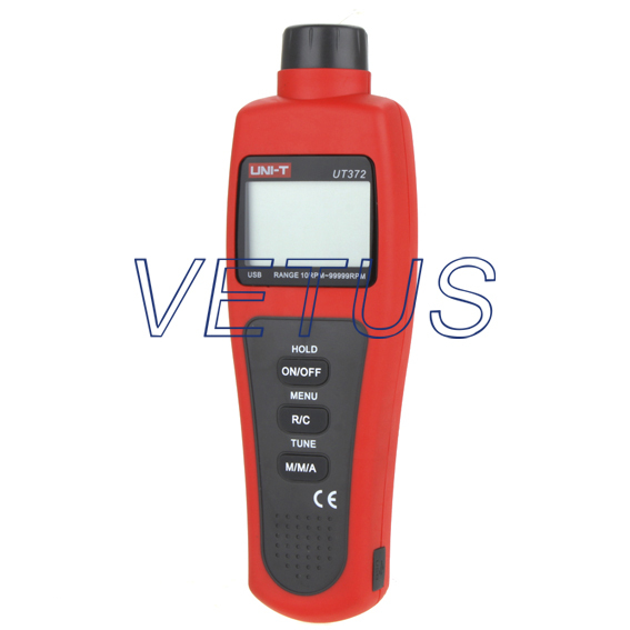Fast shipping UNI-T UT372 Non-contact Laser LCD Digital Tachometers with USB<br><br>Aliexpress