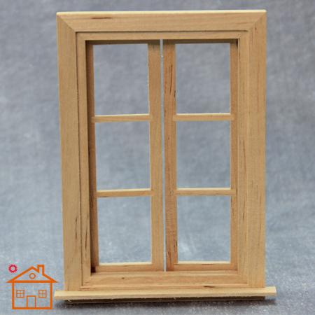 1 12 doll house window handmade diy cabin mini villa door for Affichage fenetre miniature windows 7