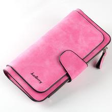 Ventas calientes marca mujeres Scrub cuero señora bolsos de alta calidad señoras embrague cartera monedero largo femenino Carteira Feminina(China)