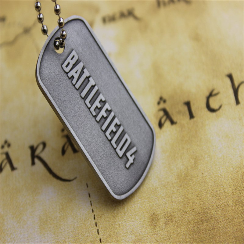Гаджет  BF4 Battlefield 4 Dog Tag Identity Card Pendant Free Shipping Wholesale None Ювелирные изделия и часы
