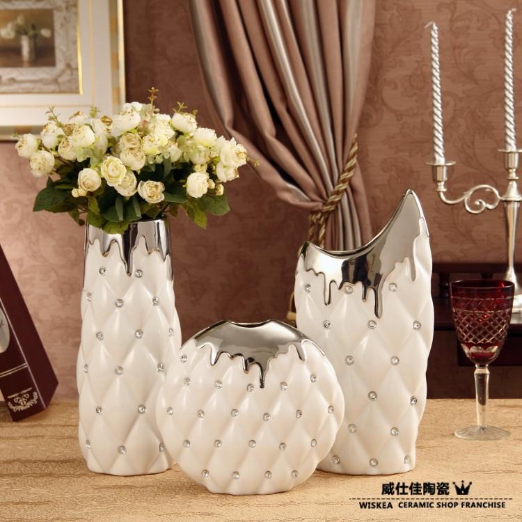 Online kaufen gro handel moderne keramik vase aus china for Grosshandel wohnaccessoires dekoration