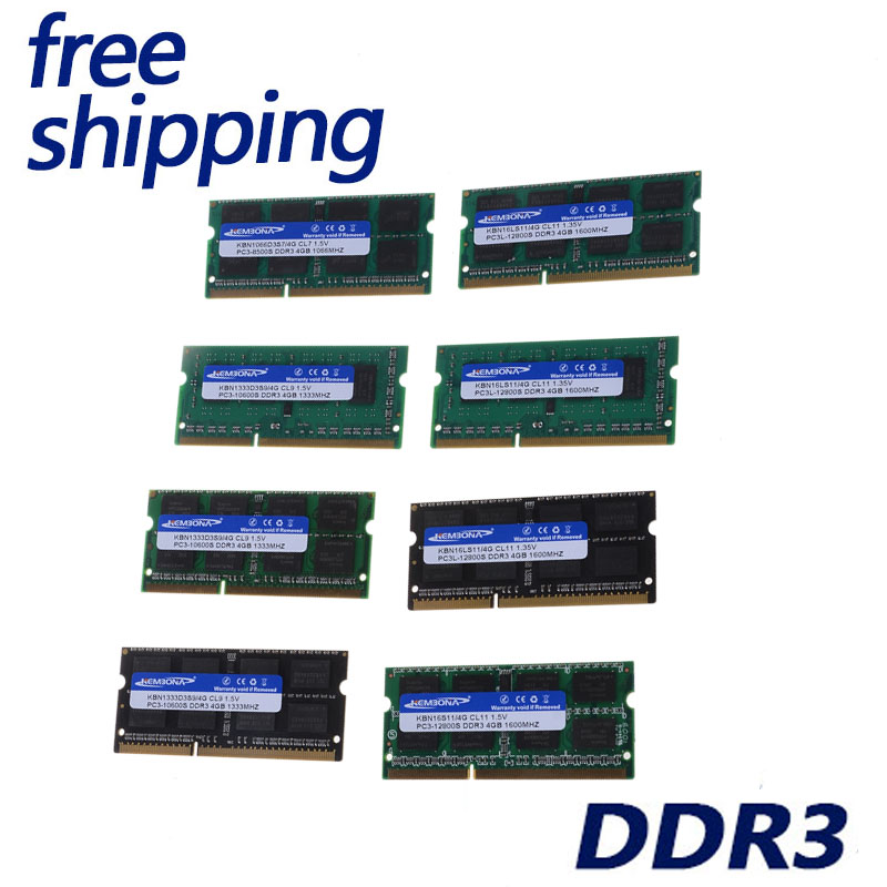 LAPTOP DDR3 4G 1333 1600 1.35V1.5V CHIPS