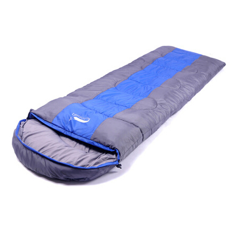 2015 New Arrival Seasons Outdoor Camping Cycling Sleeping Bag Envelope Type Warm Waterproof Travelling Hiking Sleeping Bag(China (Mainland))