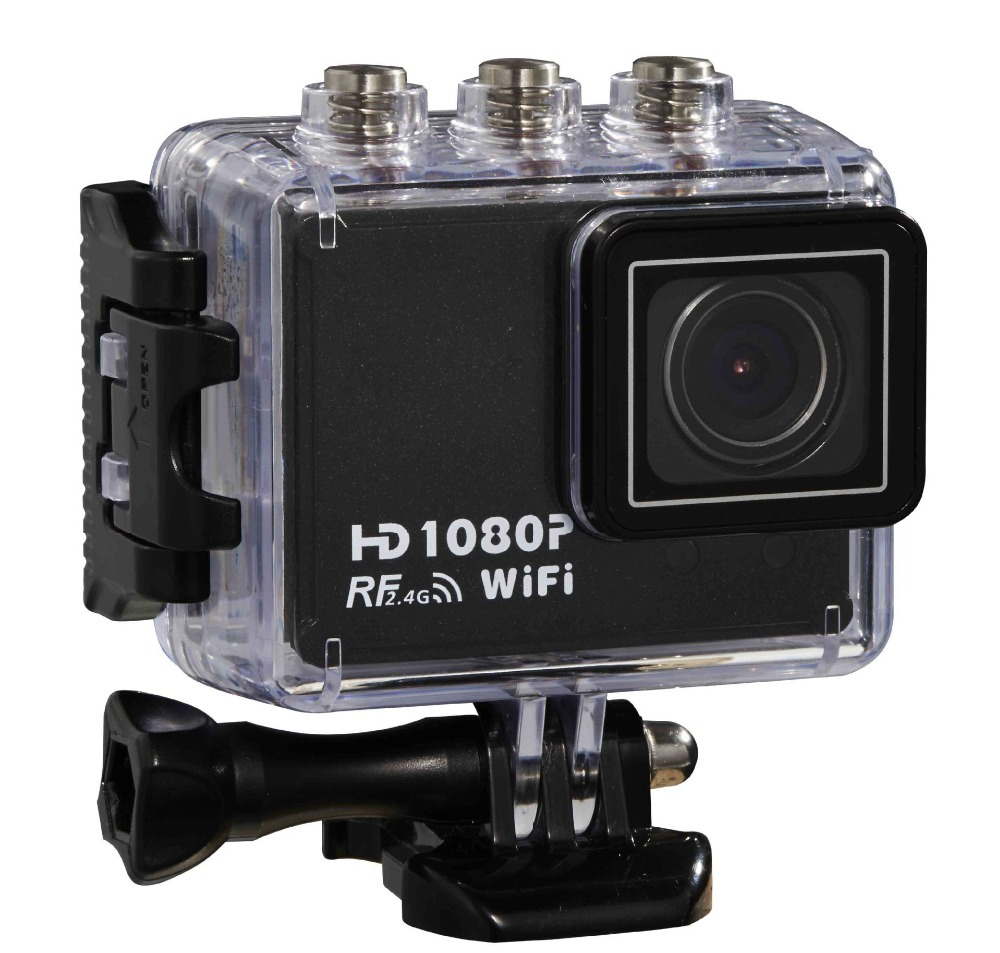 AT200 Sport Camera HD 1080P Underwater Sports Action Camera CAM WiFi DV Camcorder + Free shipping <br><br>Aliexpress