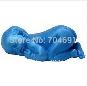 40pcs 3D Sleeping Baby Shape Silicone Cake Molds  Mould For Candy,Chocolate,Ice,Craft,soap