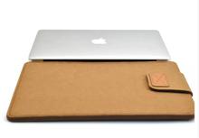 "2016 Hot Felt Laptop Liner Sleeve Bag  Notebook Case Computer Bag Smart Cover for 11"" 13"" 15"" Macbook Air Pro Retina(China (Mainland))"