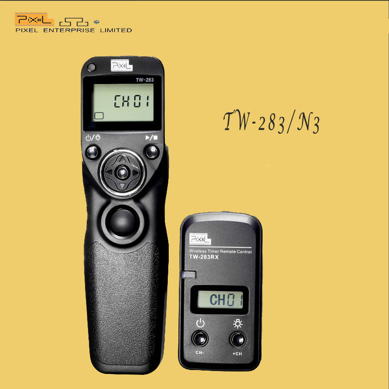 Pixel TW-283/N3 Wireless camera Shutter Release Remote Timer Control For Canon EOS 7D 5D 1D 6D 50D 40D 30D 20D10D(China (Mainland))