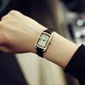 New Fashion Hot Sale Genuine Leather Female Watch Vintage Watch Women Ladies Dress Watches 3cm Small