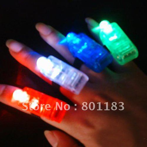 Led laser finger,500pcs/lot,light up fiber finger,christmas toy,hot toy,light up toy,wholesale(China (Mainland))