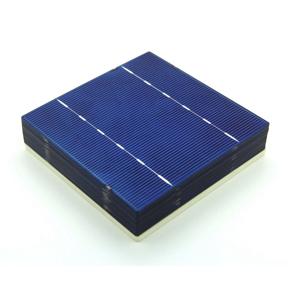 40 Pcs A Grade 2.6W 125MM Solar Cell 5x5 Polycrystalline Silicon For DIY Home Solar Panel(China (Mainland))