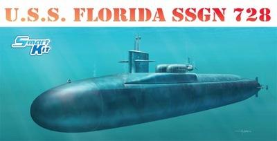 Dragon 1/350th Scale U.S.S. Florida SSGN-728 Kit No. 1056<br><br>Aliexpress
