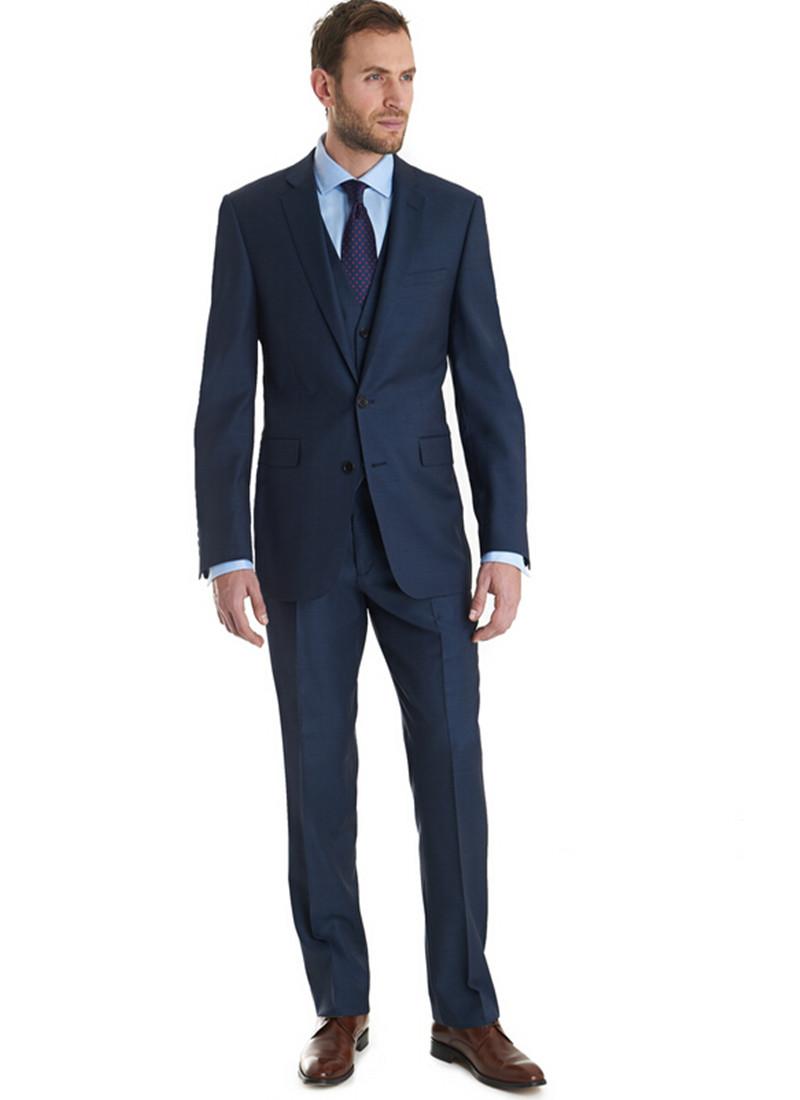 Latest Men 39 S Suits Fashion Design Groom Tuxedo Three Pieces Notch Lapel Suits Mans Formal Party