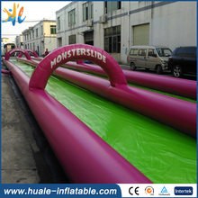 Plato PVC tarpaulin 2016 Factory Price outdoor Long Giant Inflatable Hippo Water Slide for Sale(China (Mainland))