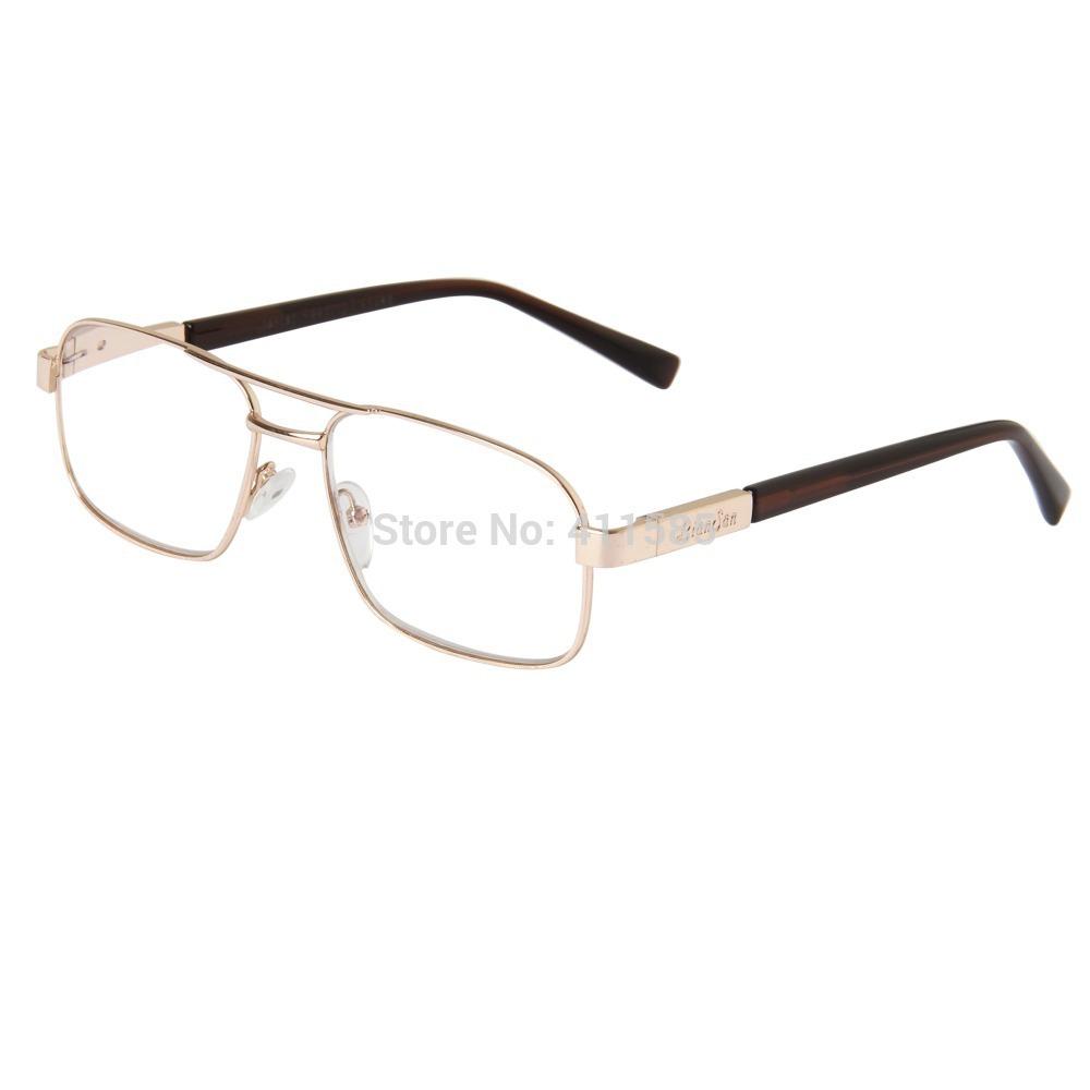 LianSan Unisex large frame Reading Glasses Men Women's Readers Glasses Metal Frame Eyeglasses L7299(China (Mainland))