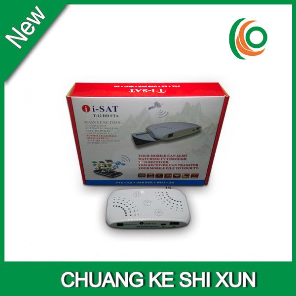 Global HD digital tv satellite receiver set top box no dish(China (Mainland))