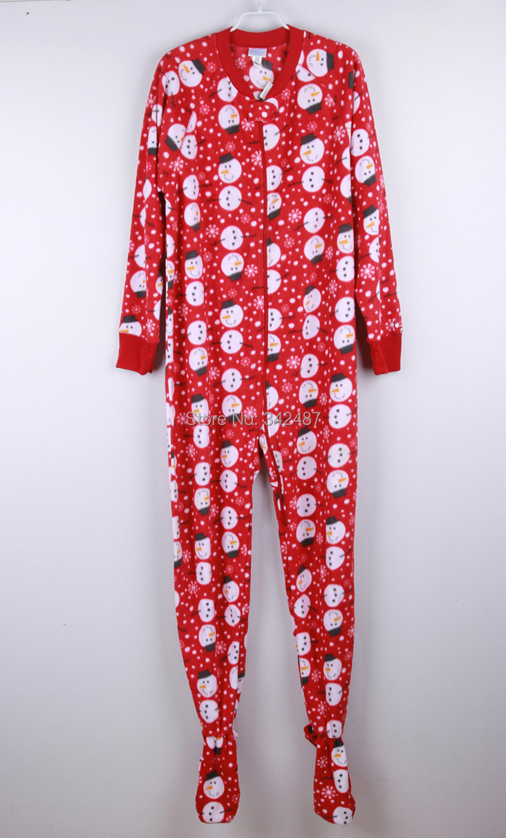Online Get Cheap Womens Footed Pajamas with Hood Red -Aliexpress ...