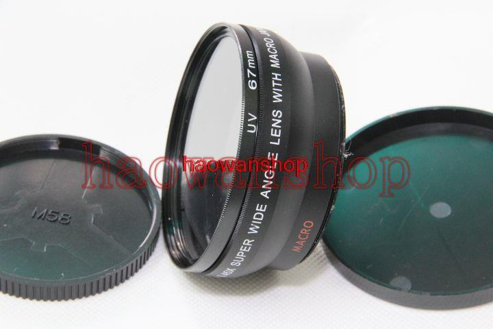 0.45x 58mm Wide Angle with Macro Conversion LENS for canon nikon pentax dslr dv camera(China (Mainland))