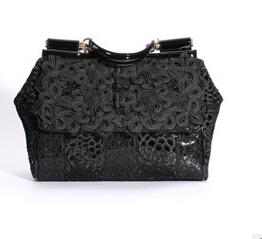 New women's handbag genuine leather shoulder bag luxury designer handbags high quality brand female tote ostrich crossbodyA098(China (Mainland))