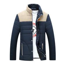 2015 New Winter Jacket Men Clothes Brand Down Men Jackets Cotton Mens Wadded Jacket Man Winter Jackets Man Warm Coat