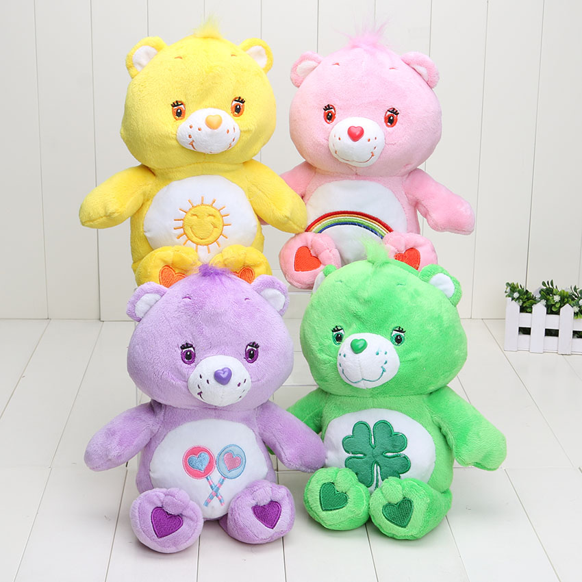 30cm Japanese care bears toy cute Soft Plush toys doll stuffed plush animals gift plush pillow baby chica star(China (Mainland))