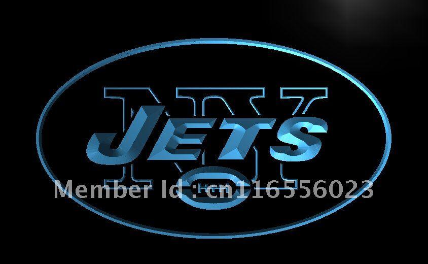 LD052- New York Jets Super Bowl Bar LED Neon Light Sign home decor crafts(China (Mainland))