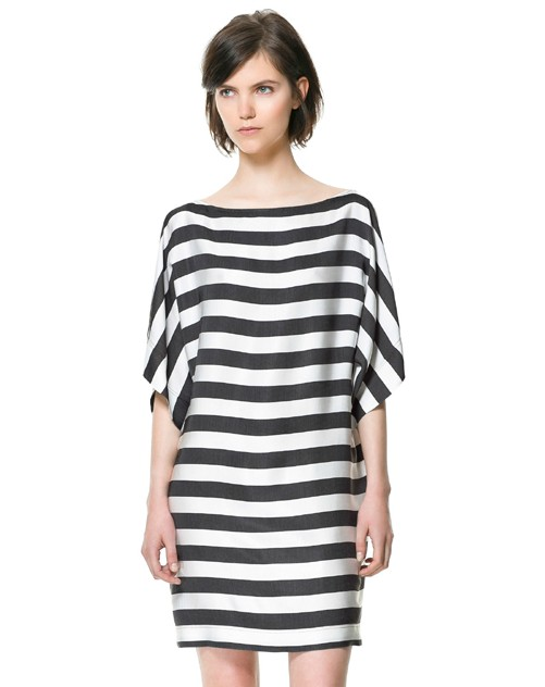 summer dresses for women 2013 loose black and white
